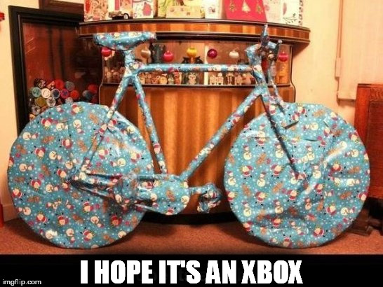 I HOPE IT'S AN XBOX | made w/ Imgflip meme maker