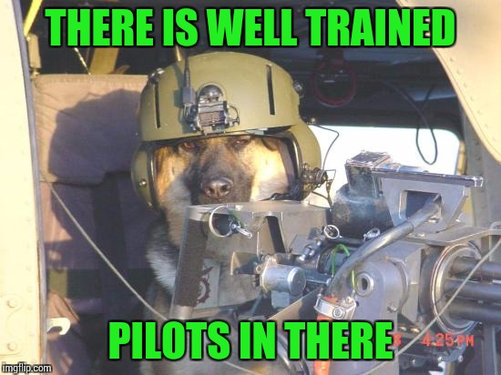 THERE IS WELL TRAINED PILOTS IN THERE | made w/ Imgflip meme maker