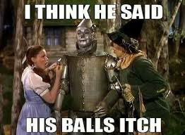 Scarecrow Wizard balls | . | image tagged in scarecrow wizard balls | made w/ Imgflip meme maker