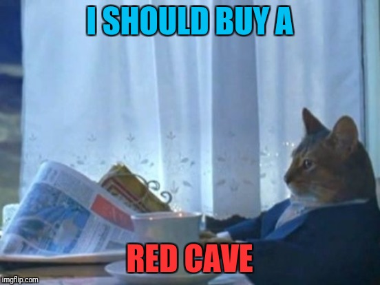 I SHOULD BUY A RED CAVE | made w/ Imgflip meme maker