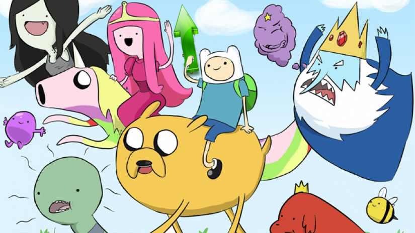 High Quality Adventure Time Blank Meme Template