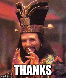 Lo pan | THANKS | image tagged in lo pan | made w/ Imgflip meme maker