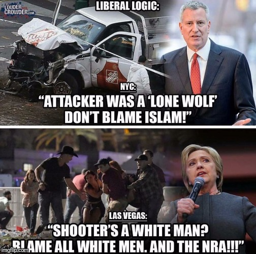 Liberal logic at its finest | image tagged in muslim,liberals,college liberal,terrorism,isis,islam | made w/ Imgflip meme maker