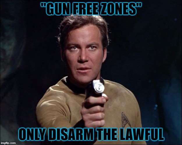 """GUN FREE ZONES"" ONLY DISARM THE LAWFUL 