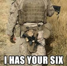 Nov 5-11th a Chad-, DashHopes, JBmemegeek & SpursFanFromAround event | I HAS YOUR SIX | image tagged in military week,cat,memes,funny,i has your six,meme week | made w/ Imgflip meme maker