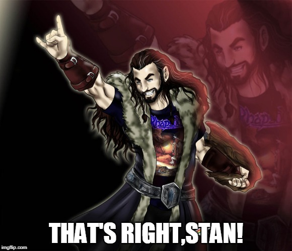 THAT'S RIGHT,STAN! | made w/ Imgflip meme maker