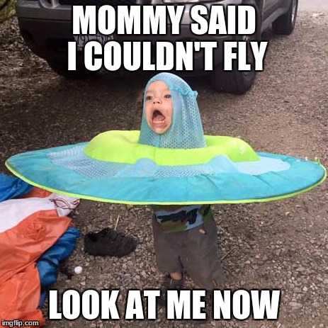 So beautiful! XD | MOMMY SAID I COULDN'T FLY LOOK AT ME NOW | image tagged in meme | made w/ Imgflip meme maker