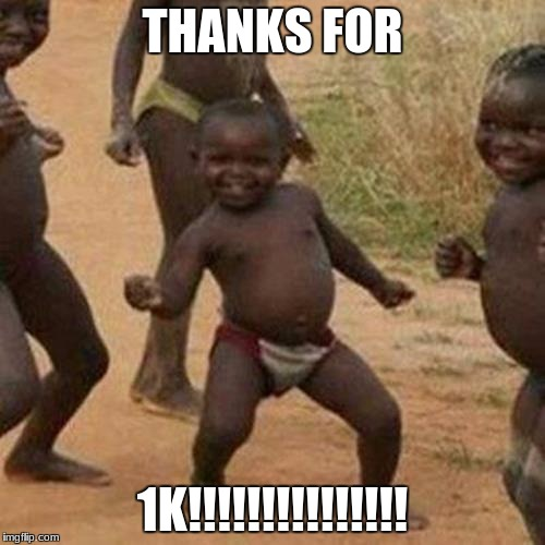 THANKS FOR 1K!!!!!!!!!!!!!!! | image tagged in thanks,transformers | made w/ Imgflip meme maker