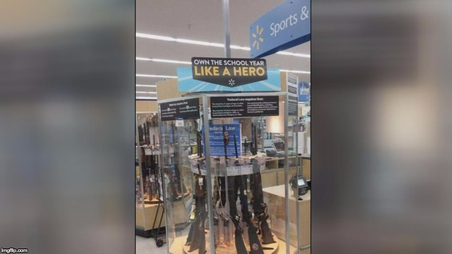 image tagged in school shooter,a tragedy at walmart | made w/ Imgflip meme maker