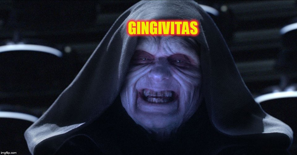 Star wars emporer |  GINGIVITAS | image tagged in star wars emporer | made w/ Imgflip meme maker