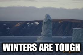 WINTERS ARE TOUGH | made w/ Imgflip meme maker
