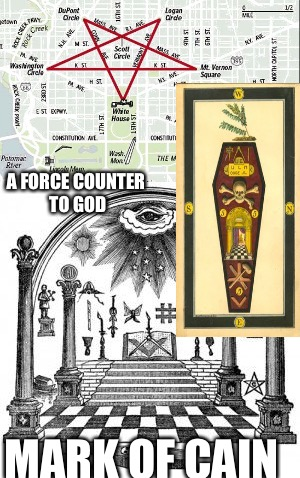 666 | A FORCE COUNTER TO GOD MARK OF CAIN | image tagged in secret,invisible,government,slavery,death | made w/ Imgflip meme maker