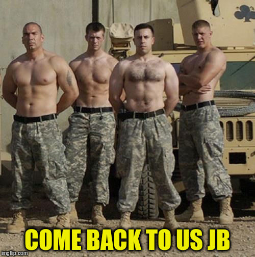 COME BACK TO US JB | made w/ Imgflip meme maker