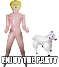 ENJOY THE PARTY | made w/ Imgflip meme maker