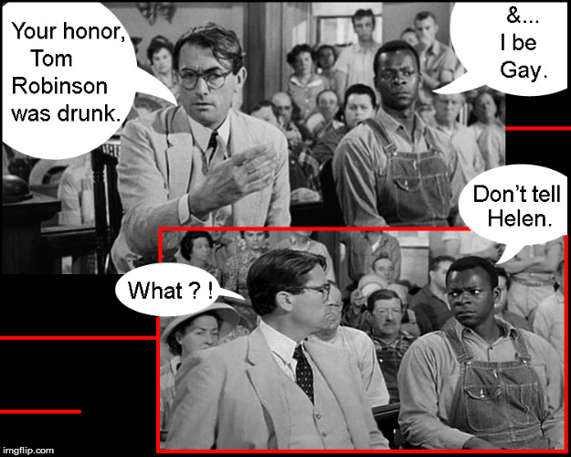 Will Mayella be surprised ! | image tagged in to kill a mockingbird,kevin spacey,current events,lol so funny,politics lol,funny memes | made w/ Imgflip meme maker