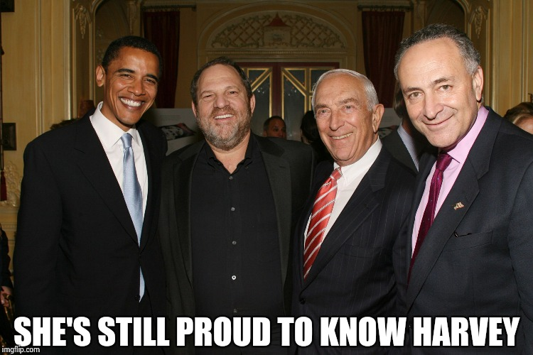 SHE'S STILL PROUD TO KNOW HARVEY | image tagged in the rat pack | made w/ Imgflip meme maker