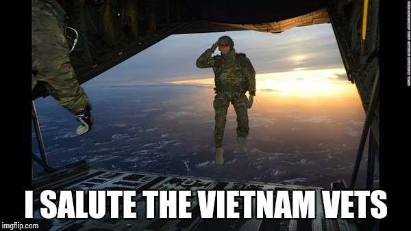 I SALUTE THE VIETNAM VETS | made w/ Imgflip meme maker