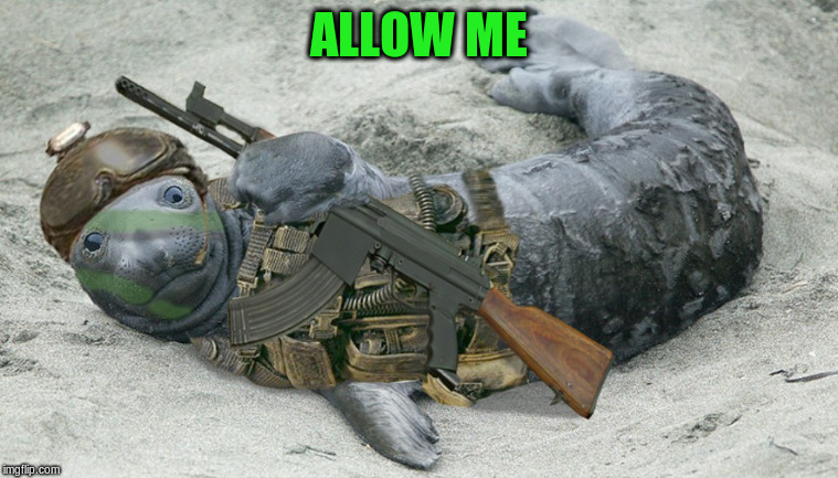 ALLOW ME | made w/ Imgflip meme maker