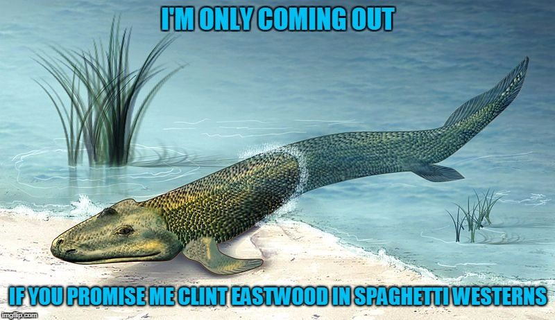 I'M ONLY COMING OUT IF YOU PROMISE ME CLINT EASTWOOD IN SPAGHETTI WESTERNS | made w/ Imgflip meme maker