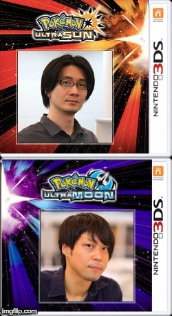 The Real Copy of Ultra Sun and Ultra Moon LOL ( I made this ) | image tagged in pokemon,funny memes,sun,pokemon sun and moon,moon | made w/ Imgflip meme maker