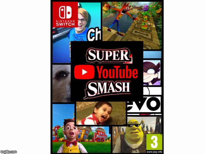 I guess this will do while we wait for smash 5 | image tagged in memes,youtube | made w/ Imgflip meme maker