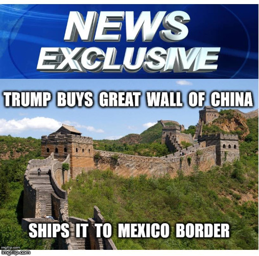 Huge Deal | image tagged in donald trump,trump,trump wall,the wall,politics,memes | made w/ Imgflip meme maker
