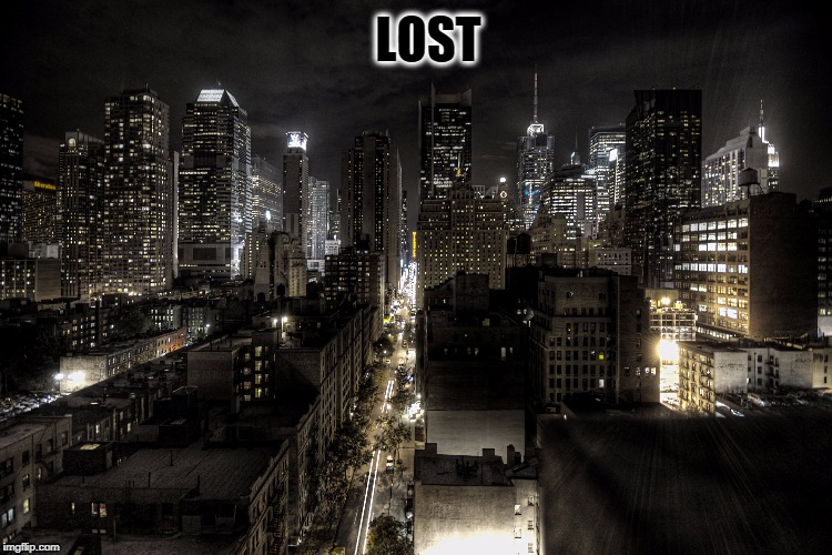 LOST | image tagged in lost | made w/ Imgflip meme maker