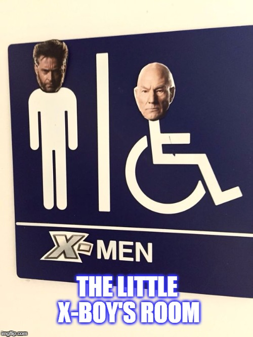 X-mensroom | THE LITTLE X-BOY'S ROOM | image tagged in x mensroom,superheroes,x men | made w/ Imgflip meme maker