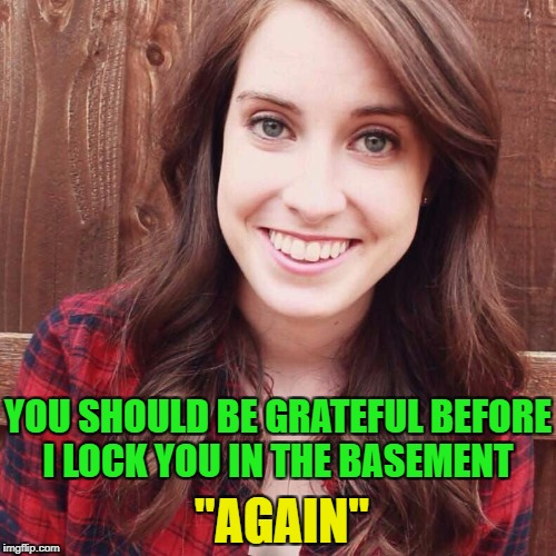 "OAG Smiling long hair craziness | ""AGAIN"" YOU SHOULD BE GRATEFUL BEFORE I LOCK YOU IN THE BASEMENT 
