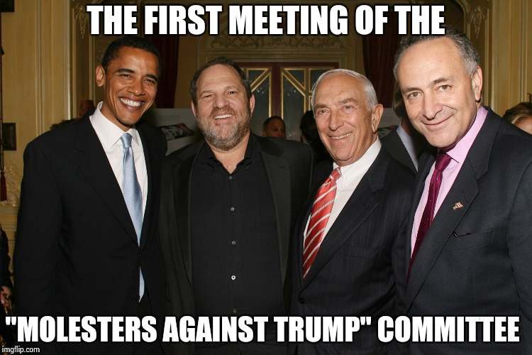 "THE FIRST MEETING OF THE ""MOLESTERS AGAINST TRUMP"" COMMITTEE 