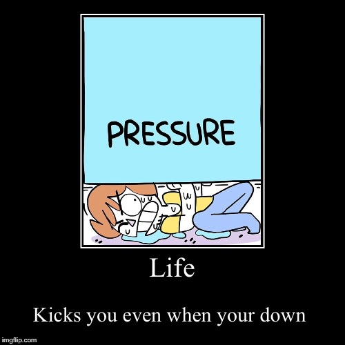 Life | Kicks you even when your down | image tagged in funny,demotivationals | made w/ Imgflip demotivational maker