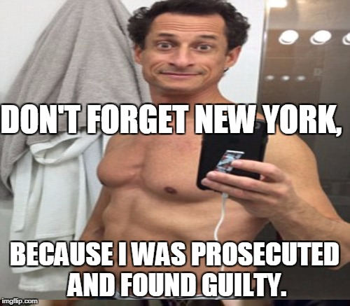 DON'T FORGET NEW YORK, BECAUSE I WAS PROSECUTED AND FOUND GUILTY. | made w/ Imgflip meme maker
