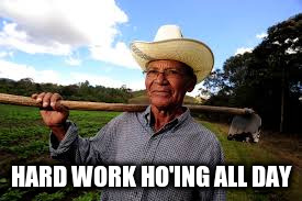 HARD WORK HO'ING ALL DAY | made w/ Imgflip meme maker