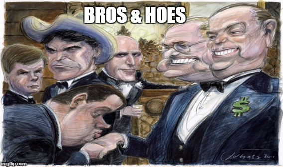 Citizens United |  BROS & HOES | image tagged in america for sale | made w/ Imgflip meme maker