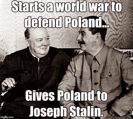 Idiot allies | image tagged in ww2,hitler,hoax,stalin,churchill,jew | made w/ Imgflip meme maker