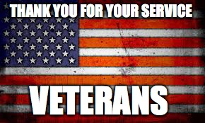 thank you | THANK YOU FOR YOUR SERVICE VETERANS | image tagged in veterans day | made w/ Imgflip meme maker