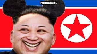 I'M HANDSOME | image tagged in north korea | made w/ Imgflip meme maker