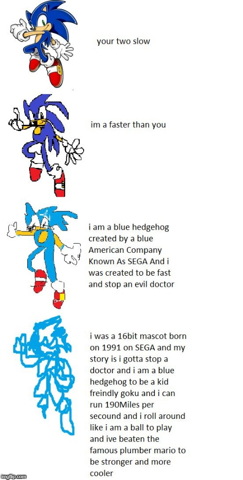 image tagged in sonic increasingly verbose meme | made w/ Imgflip meme maker