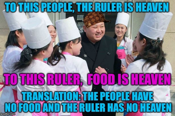 """To the ruler, the people are heaven. To the people, food is heaven.""  Chinese Proverb 