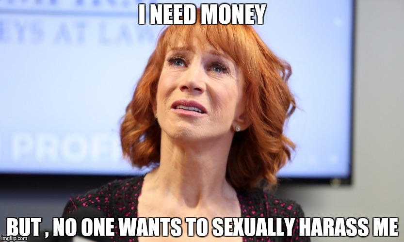 I NEED MONEY BUT , NO ONE WANTS TO SEXUALLY HARASS ME | image tagged in it was just a joke | made w/ Imgflip meme maker