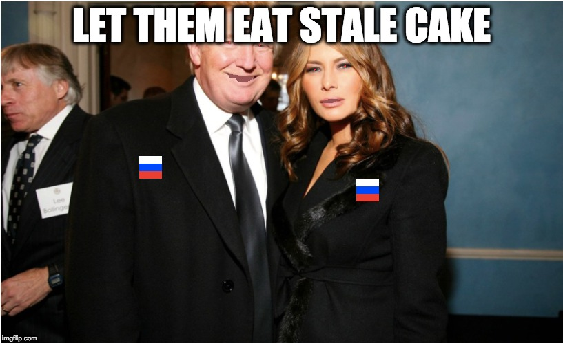 LET THEM EAT STALE CAKE | image tagged in memes | made w/ Imgflip meme maker
