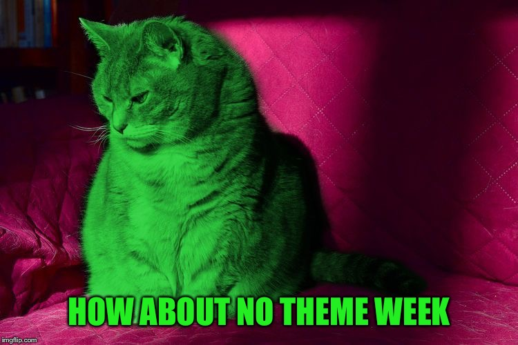 Cantankerous RayCat | HOW ABOUT NO THEME WEEK | image tagged in cantankerous raycat | made w/ Imgflip meme maker
