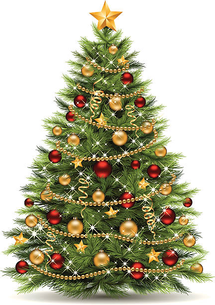Light Christmas Wreath