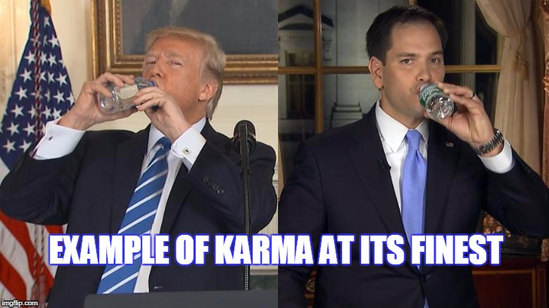 Trump Karma  | EXAMPLE OF KARMA AT ITS FINEST | image tagged in trump | made w/ Imgflip meme maker