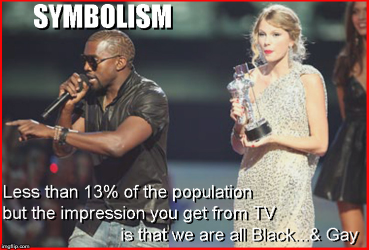 Remember when this idiot pulled this crap ? Indicative  | image tagged in kayne west,taylor swift,blm,current events,politics lol,funny memes | made w/ Imgflip meme maker