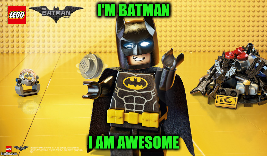 I'M BATMAN I AM AWESOME | made w/ Imgflip meme maker