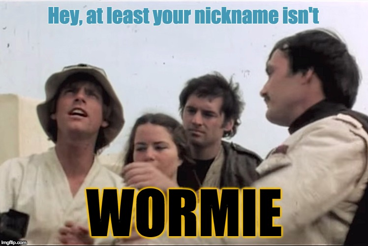 "Luke ""Wormie"" Skywalker 