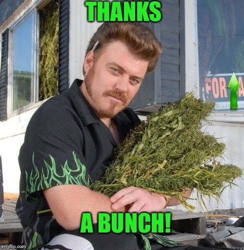 THANKS A BUNCH! | made w/ Imgflip meme maker