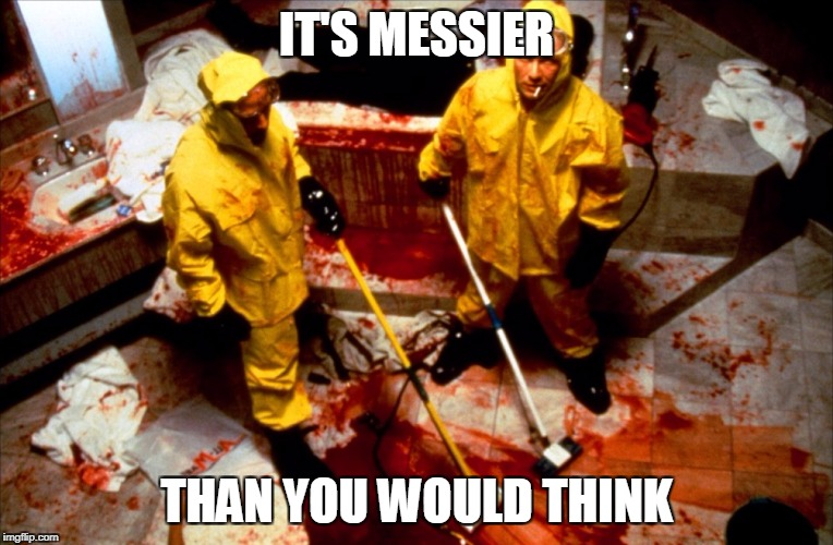 IT'S MESSIER THAN YOU WOULD THINK | made w/ Imgflip meme maker