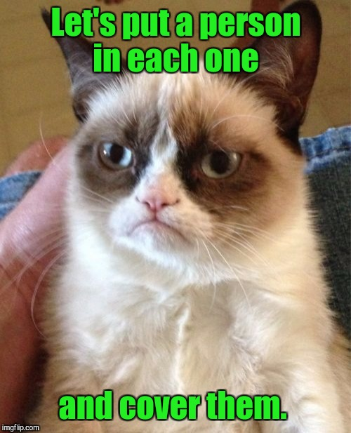 Grumpy Cat Meme | Let's put a person in each one and cover them. | image tagged in memes,grumpy cat | made w/ Imgflip meme maker